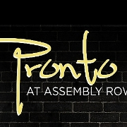 This is the restaurant logo for Pronto at Assembly Row
