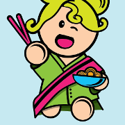 This is the restaurant logo for Roppongi
