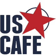 This is the restaurant logo for US Cafe Express - Spring Rd