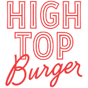 This is the restaurant logo for HIGHTOP Burger