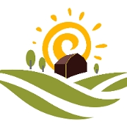 This is the restaurant logo for .......Earth's Harvest.......