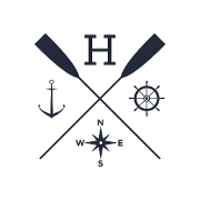 This is the restaurant logo for The Hampton Social