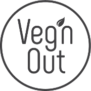 This is the restaurant logo for Veg'n Out