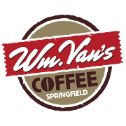 This is the restaurant logo for zOLD Wm Van's Coffee House