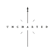 This is the restaurant logo for Uncharted Tea