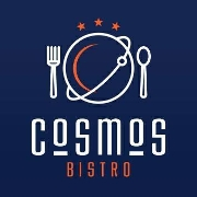 This is the restaurant logo for Cosmos Bistro