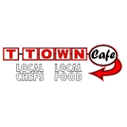 This is the restaurant logo for T-Town Cafe
