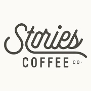 This is the restaurant logo for Stories Coffee Company