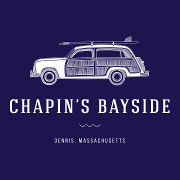 This is the restaurant logo for Chapin's Bayside