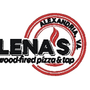 This is the restaurant logo for Lena's Wood-Fired Pizza & Tap