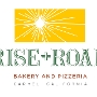 Restaurant logo for Rise + Roam Bakery & Pizzeria