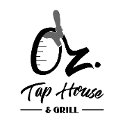 This is the restaurant logo for Oz. Tap House