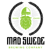 This is the restaurant logo for Mad Swede Brewing