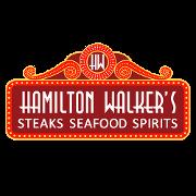 This is the restaurant logo for Hamilton Walker's