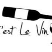This is the restaurant logo for C'est le Vin Wine Bar