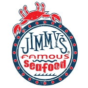 This is the restaurant logo for Jimmy's Famous Seafood