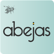 This is the restaurant logo for Abejas