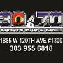 Restaurant logo for 30/70 Sports Bar & Grill