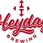 This is the restaurant logo for Heyday Brewing