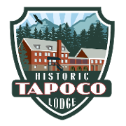 This is the restaurant logo for Tapoco Lodge & Tavern