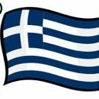 This is the restaurant logo for It's Greek To Me