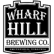 This is the restaurant logo for Wharf Hill Brewing Company