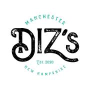 This is the restaurant logo for Diz's Cafe