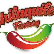 This is the restaurant logo for Chilaquiles Factory
