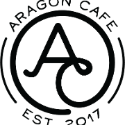 This is the restaurant logo for The Aragon Cafe