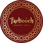 This is the restaurant logo for Tarbouch Lebanese Grill & Hookah