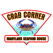This is the restaurant logo for Crab Corner Maryland Seafood House