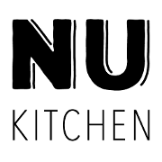 This is the restaurant logo for NU Kitchen