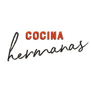 This is the restaurant logo for Cocina Hermanas