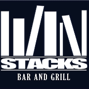 This is the restaurant logo for Stacks Bar&Grill
