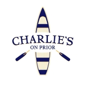 This is the restaurant logo for Charlie's On Prior