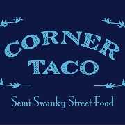 This is the restaurant logo for Corner Taco