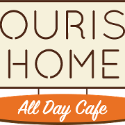 This is the restaurant logo for Tourist Home Cafe/Annex Cocktail Lounge
