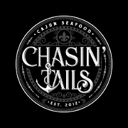 This is the restaurant logo for Chasin' Tails