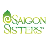 This is the restaurant logo for Saigon Sisters