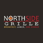 This is the restaurant logo for North Side Grille