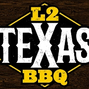 This is the restaurant logo for L2 Texas BBQ