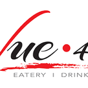 This is the restaurant logo for Vue 412