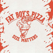This is the restaurant logo for Fat Boy's Pizza T1