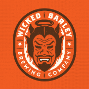 This is the restaurant logo for Wicked Barley Brewing Company