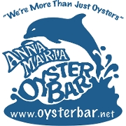 This is the restaurant logo for Anna Maria Oyster Bar