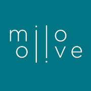 This is the restaurant logo for Milo & Olive