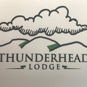 This is the restaurant logo for Thunderhead Lodge