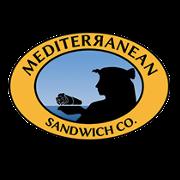 This is the restaurant logo for Mediterranean Sandwich Co. Wemo