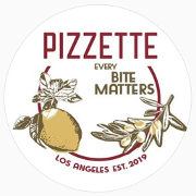 This is the restaurant logo for Pizzette
