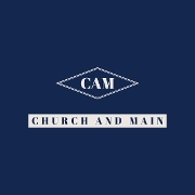 This is the restaurant logo for Church and Main